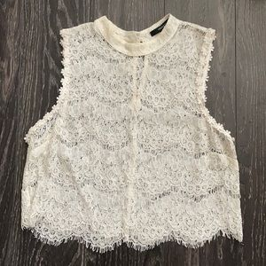 Forever 21 lace sleeveless top